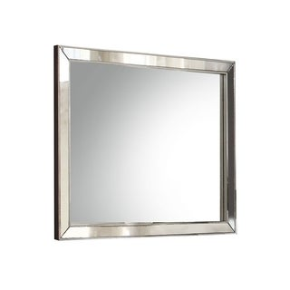 Acme Furniture Voeville II Silvertone MDF Mirror