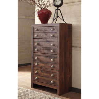 Signature Design by Ashley Hammerstead Brown Four Drawer Chest