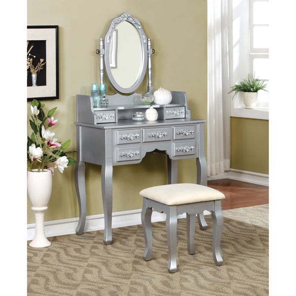 Furniture Of America Mayla Elegant Traditional 2 Piece