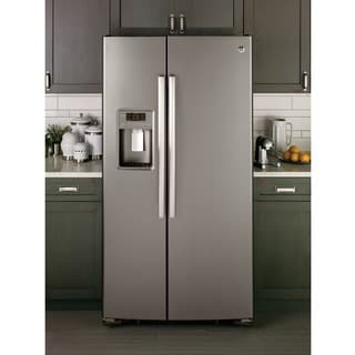 GE APPLIANCES 23.2 CU. FT. SIDE-BY-SIDE REFRIGERATOR