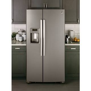 GE APPLIANCES 23.2 CU. FT. SIDE-BY-SIDE REFRIGERATOR|https://ak1.ostkcdn.com/images/products/13250965/P19964683.jpg?impolicy=medium