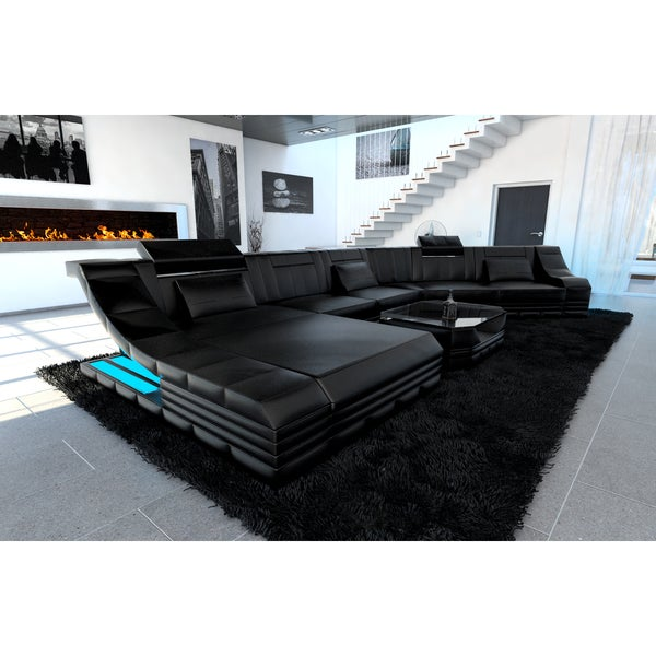 Amazing Luxury Sectional Sofa New York CL LED Lights