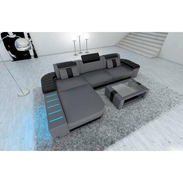 Design Sectional Sofa Boston Led Lights