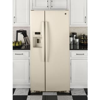 GE APPLIANCES ENERGY STAR 23.2 CU. FT. SIDE-BY-SIDE REFRIGERATOR