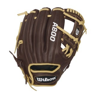 Wilson Showtime A800 Brown Leather 11.5-inch Pedroia-fit Right-hand Glove