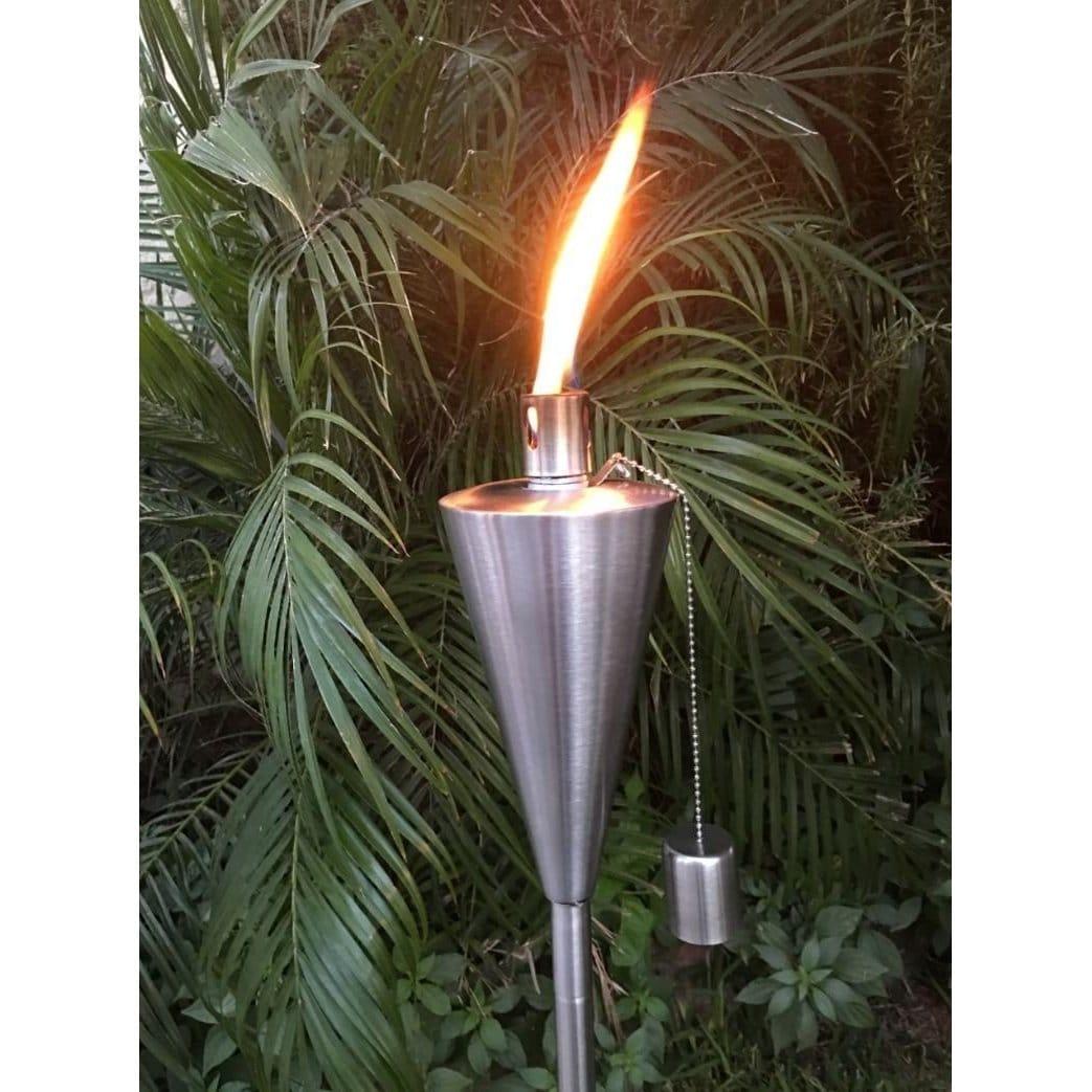 Tiki Torch Outdoor Garden Oil Lamp Lanterns with Decorati...