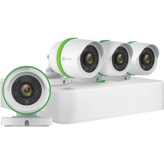 EZVIZ BD-2824B1 8CH 1080p Video Security System with 1TB HDD and 4 1080p Analog Cameras