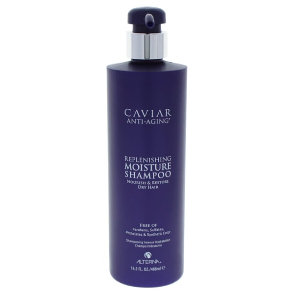 a4389333a20 Shop Alterna Caviar Anti-Aging 16.5-ounce Replenishing Moisture Shampoo -  Free Shipping Today - Overstock - 13251305