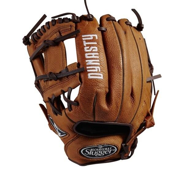 Louisville Slugger Dynasty Brown Leather 11.5-inch Baseball Glove