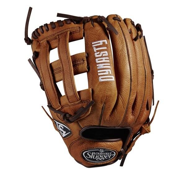 Louisville Slugger Dynasty of Baseball Brown Leather 12.25-inch Glove