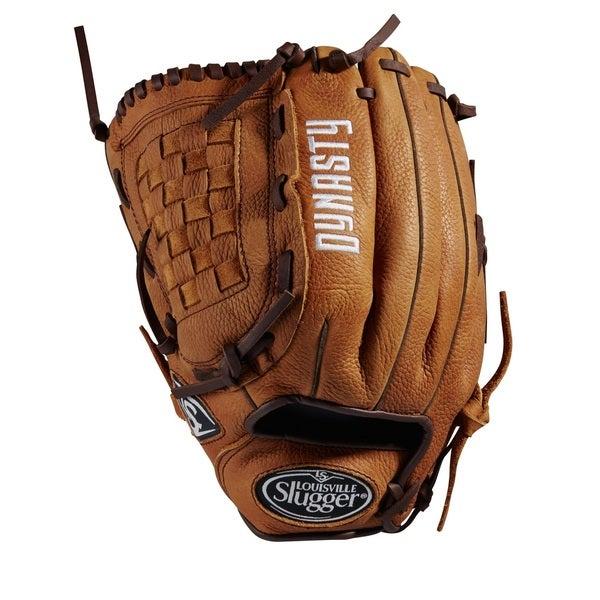 Louisville Slugger Dynasty Brown Leather 12-inch Pitcher Baseball Glove