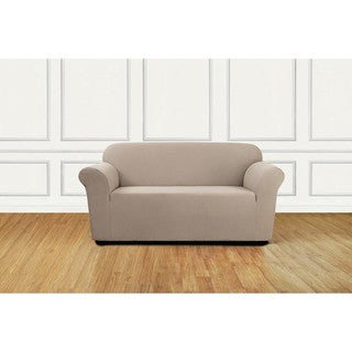 Sure Fit Stretch Delicate Leaf Loveseat Slipcover