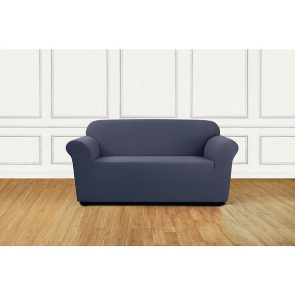Marvelous Shop Sure Fit Stretch Delicate Leaf Loveseat Slipcover Unemploymentrelief Wooden Chair Designs For Living Room Unemploymentrelieforg