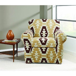 Sure Fit Stretch Kilim Chair Slipcover