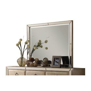 Acme Furniture Voeville Antique Gold-tone Pine and Oak Mirror