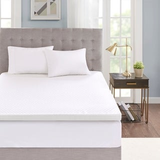 Flexapedic by Sleep Philosophy 3-inch Gel Memory Foam Dust Mite Repellent and Anti-microbial Mattress Topper