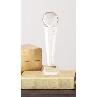Urban Designs Spherical Tower Crystal Trophy Sculpture