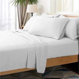 Cheer Collection Ultra Soft 1800 Series 6-piece Sheet Set
