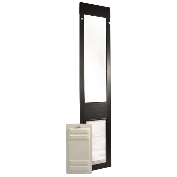 Endura Flap Thermo Panel Extra Large Flap Pet Door For Sliding Glass