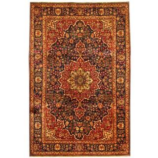 Herat Oriental Persian Hand-knotted Tabriz Wool Rug (6'8 x 10')