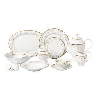 57-piece Bone China Dinnerware Set - Greta