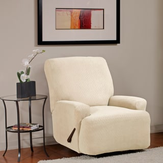 Diamond Stretch Recliner Slipcover