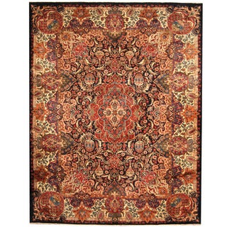 Herat Oriental Persian Hand-knotted Tribal Kashmar Wool Rug (9'9 x 12'7)
