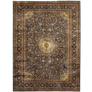 Herat Oriental Persian Hand-knotted Tribal Kashmar Wool Rug (9'9 x 13')