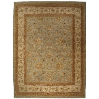 Exquisite Rugs Ziegler Rust/Beige Wool New Zealand Rug (14' X 18')