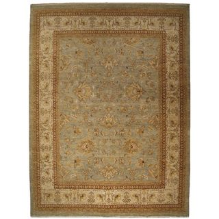 Rust and Beige New Zealand Wool Ziegler Rug (15' x 20')