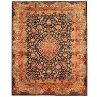 Herat Oriental Persian Hand-knotted Tribal Kashmar Wool Rug - 9'10 x 12'5