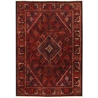 Herat Oriental Persian Hand-knotted Joshegan Wool Rug (7'2 x 10'3)