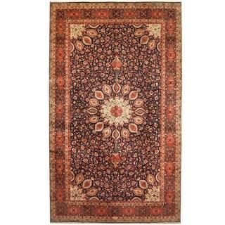 Herat Oriental Persian Hand-knotted Tabriz Wool Rug (9'9 x 16')
