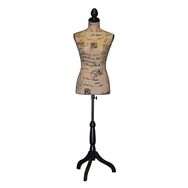 Female Adjustable Fiberglass Mannequin Dress Form Sewing Torso Display Tripod