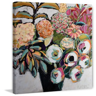 Marmont Hill - 'Spring Bouquet' by Michelle Rivera Painting Print on Wrapped Canvas