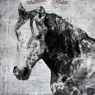 Marmont Hill - 'California Horse' by Irena Orlov Painting Print on Wrapped Canvas