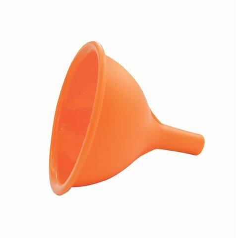 You Can Hide It Secret Pocket Orange Silicone Funnel