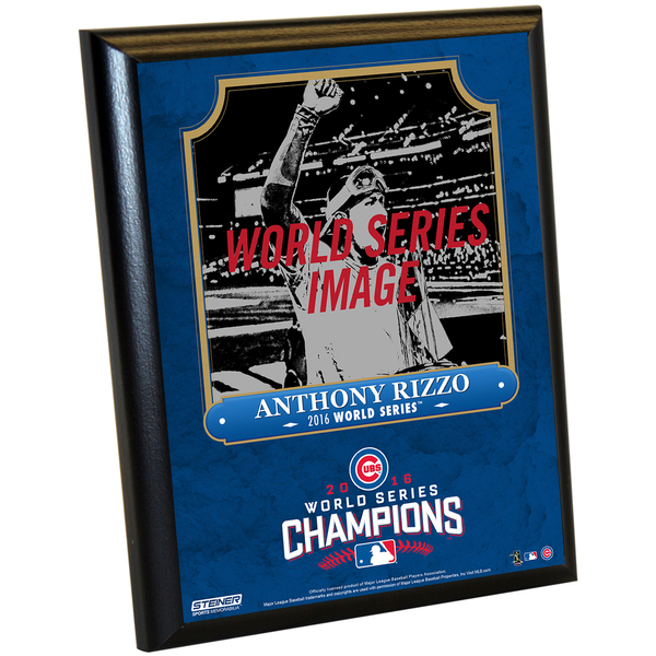 581f147d6 Shop Chicago Cubs 2016 World Series Champions Anthony Rizzo 8x10 Plaque -  Free Shipping On Orders Over  45 - Overstock - 13252679