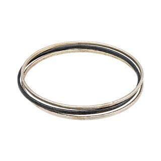 Gurhan Women's Midnight Sterling Silver 3-piece Set Bangle Bracelets