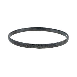 Gurhan Sterling Silver Midnight Bangle Bracelet