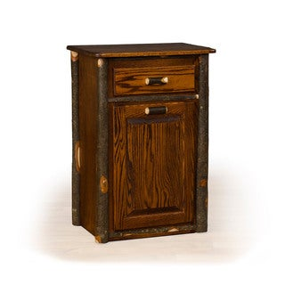 Exceptionnel Rustic Hickory Tilt Out Trash Bin Medium Stain