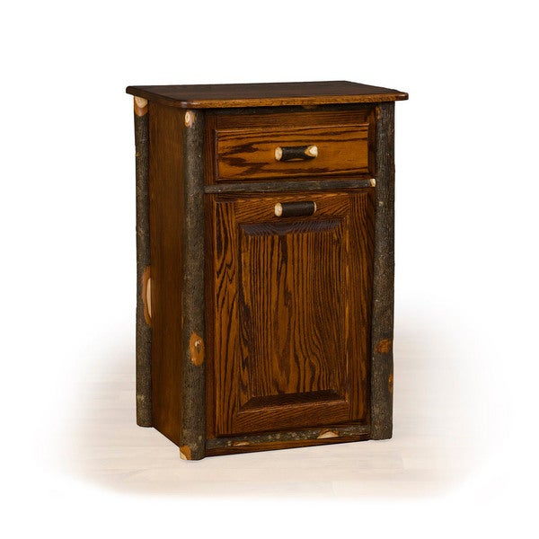Rustic Hickory Tilt Out Trash Bin Medium Stain