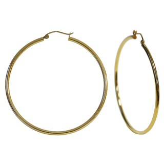 Marc IVY 14K Yellow Gold Hoop Earrings