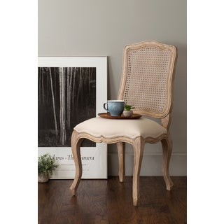East At Main's Archer Brown Sungkai Wood and Rattan Dining Chair