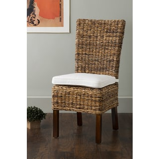 East At Main's Andover Brown Abaca Dining Chair
