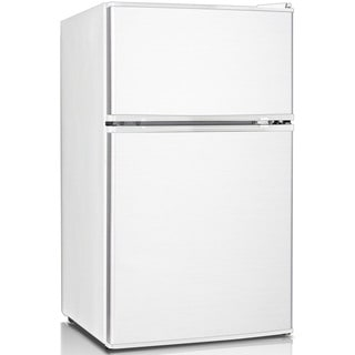 Keystone Energy Star 3.1 Cu. Ft. Compact 2-Door Refrigerator/Freezer - White