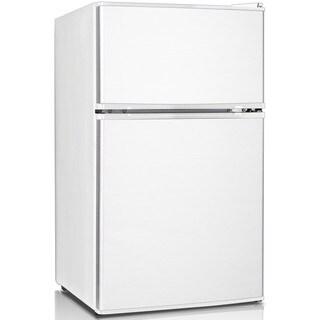 Keystone Energy Star 3.1 Cu. Ft. Compact 2-Door Refrigerator/Freezer - White
