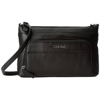 Calvin Klein Pebble Black Leather Crossbody|https://ak1.ostkcdn.com/images/products/13252923/P19966445.jpg?impolicy=medium