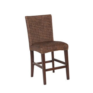 Coaster Dark Brown Wood Counter-height Stool
