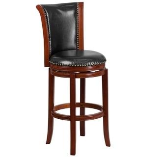 30 inch Chestnut Wood Barstool
